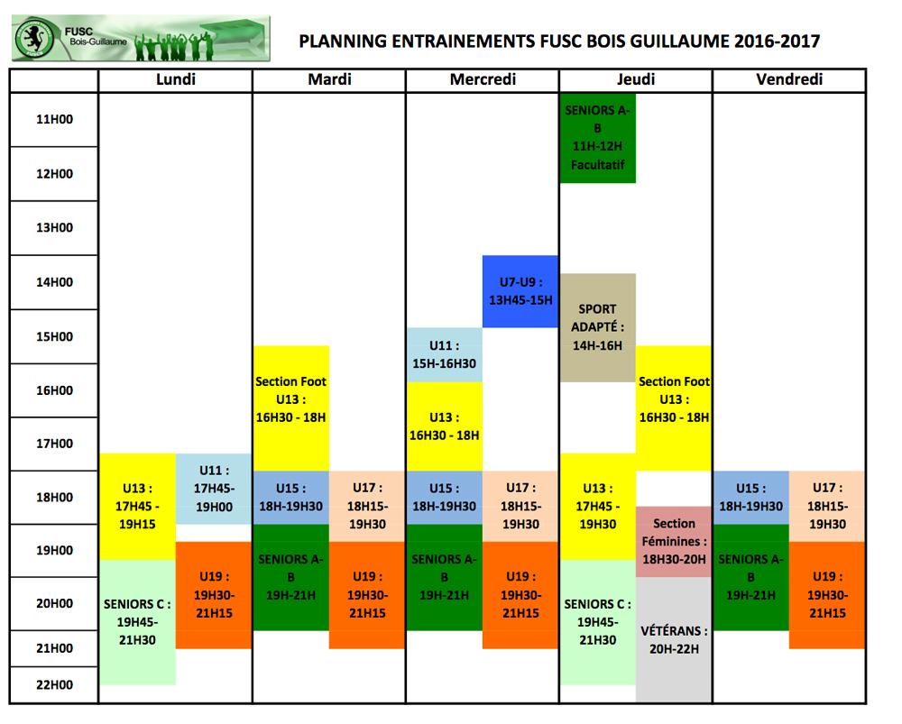 horaires-planning-entrainements